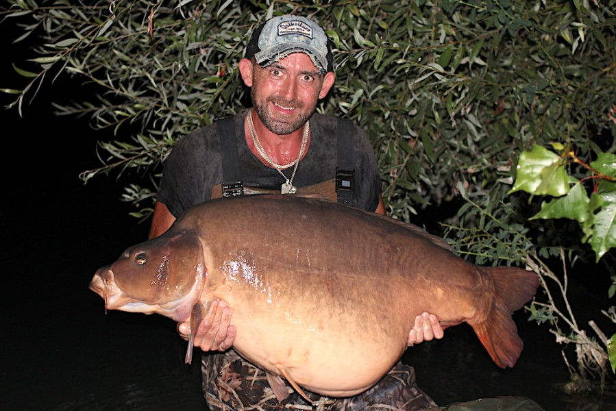 Chris Clark, 66lb 8oz, Co's Point, 25.8.18