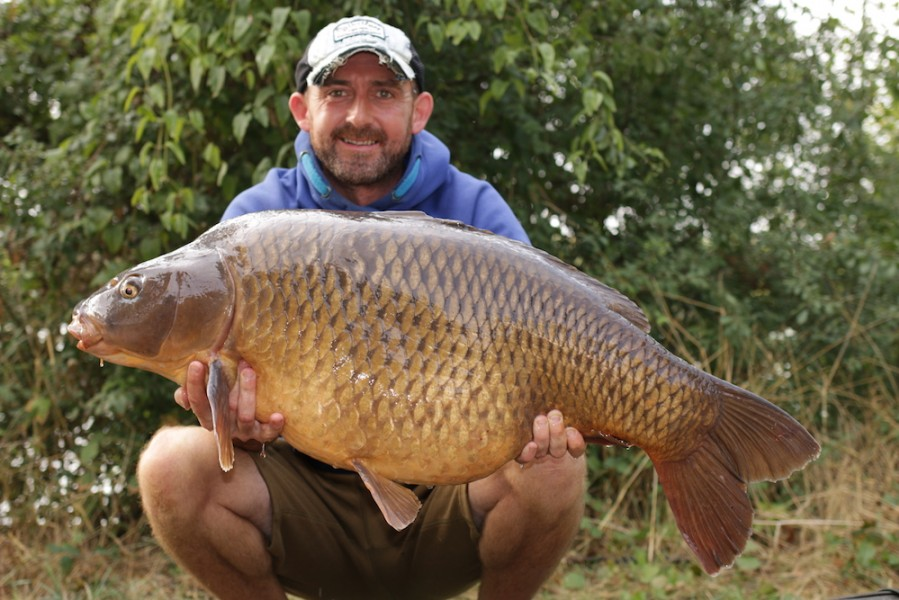 Chris Clark, 39lb 8oz, Co's Point, 25.8.18