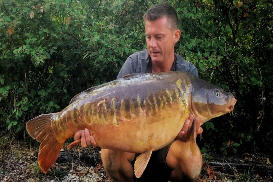 Barry Edwards, 38lb 8oz, Baxters Hole, 25.8.18