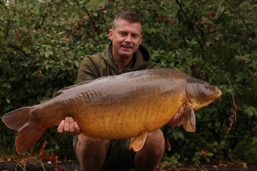 Barry Edwards, 46lb, Baxter's Hole, 25.8.18