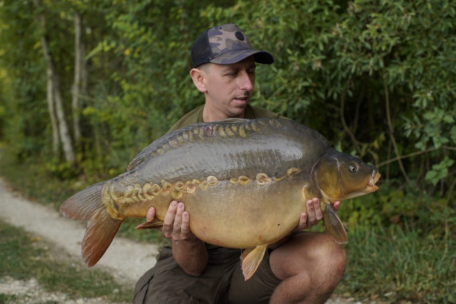 Paul Adams, 34lb, Big Southerly, 8.9.18