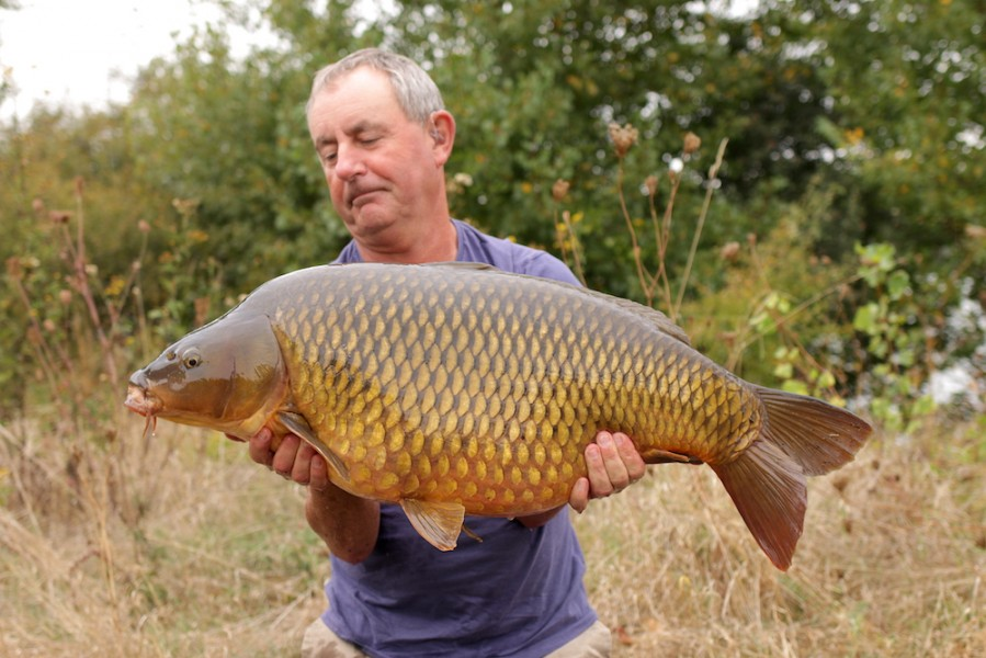 John Allen, 32lb 12oz, Stock Pond, 15.9.18