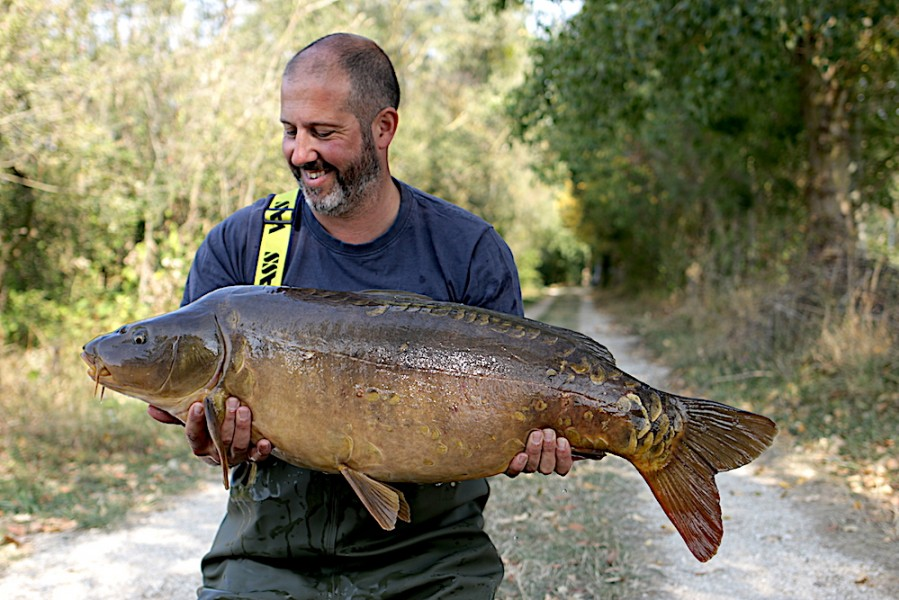 Alex Noble, 34lb 4oz, Oblivion, 15.9.18