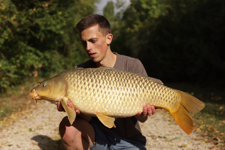 A long, clean 24lb Stockie