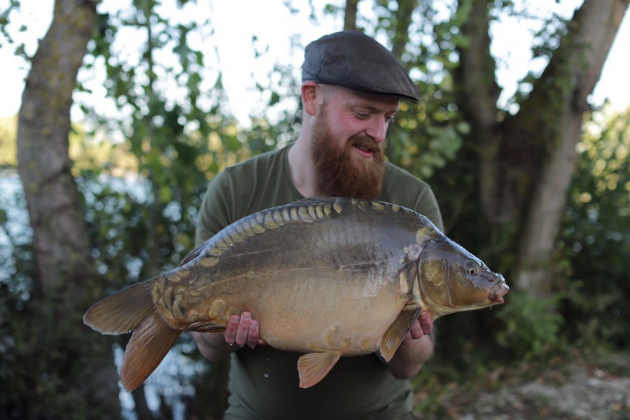Mark Rigby, 22lb, Pole Position, 22.9.18