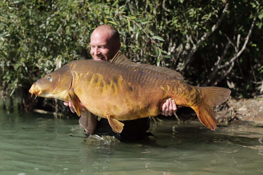 Paul Harris, 47lb 8oz, Co's Point, 22.9.18