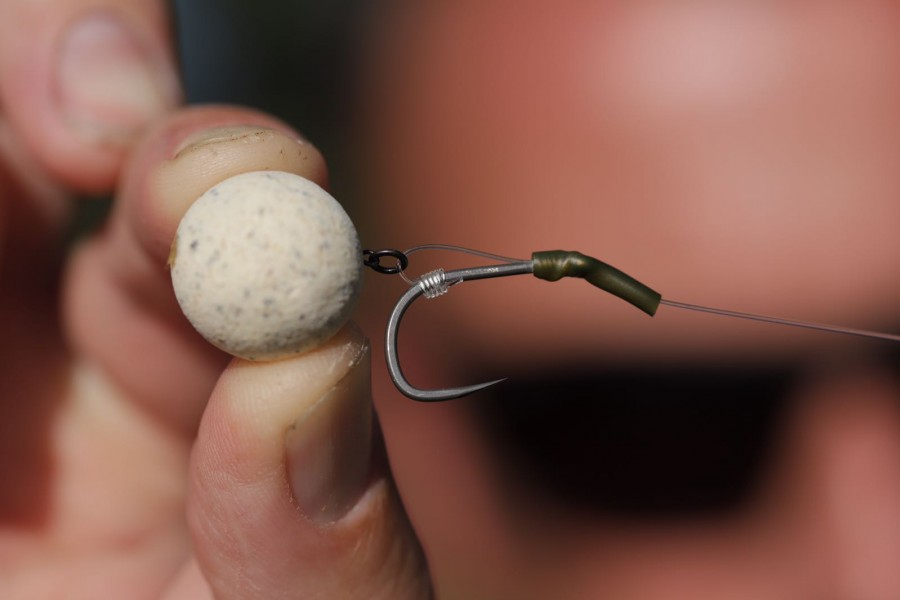 Carl's version of the IQ D-Rig, with the kicker to help the hook grab hold.