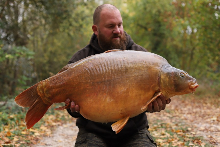 Anders Frenk, 50lb 4oz, The Alamo, 20.10.18
