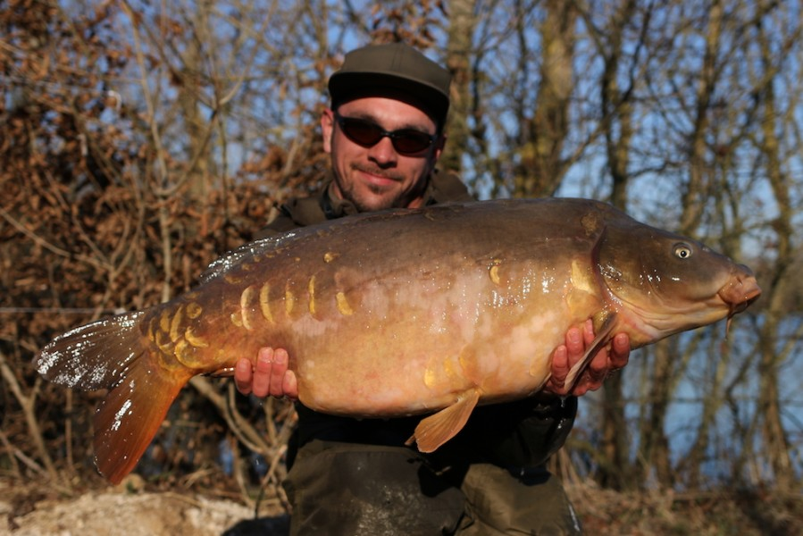 Jamie Wilson With Wayne's World at 38lb from Alcatraz