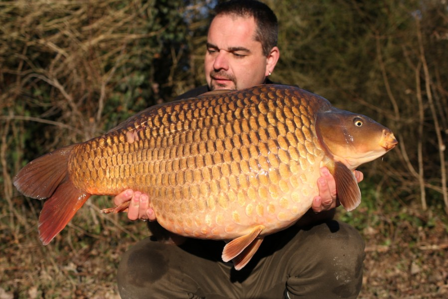 Simon Irons with La Boheme at 39lb 12oz from Co's Point