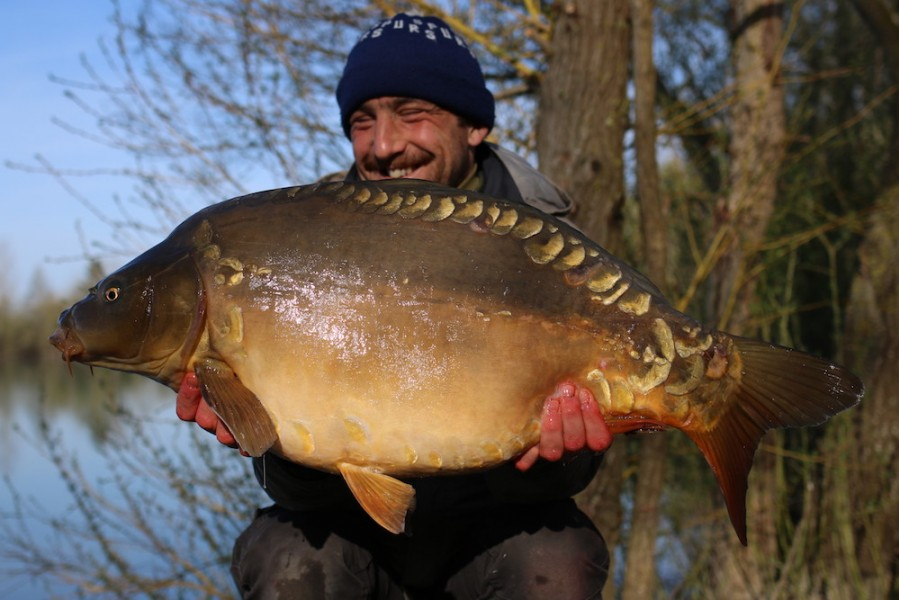 James Hayden with The Teacher at 27lb 4oz from The Stink 30.04.2019
