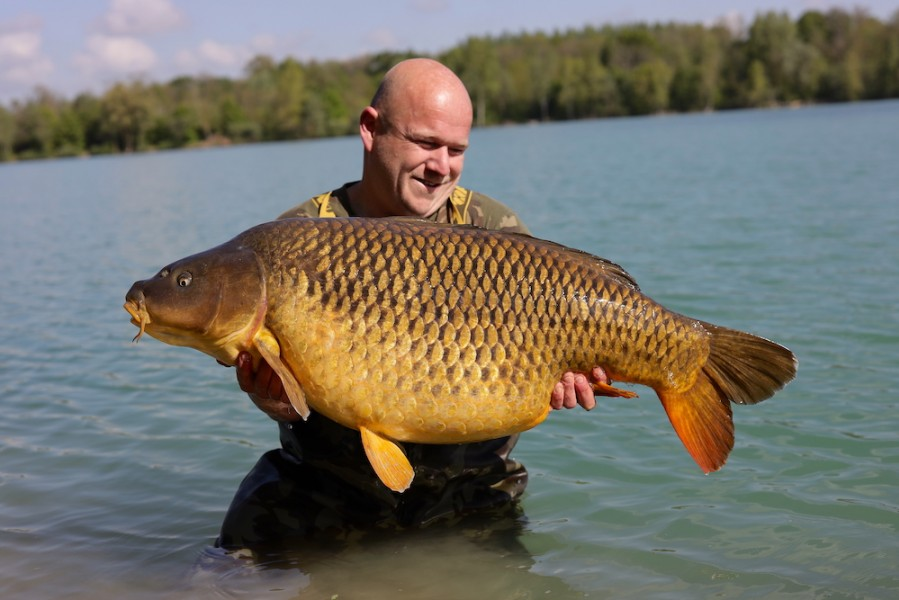 Martin Carefoot, 53lb 12oz, Stock Pond, 4.5.19