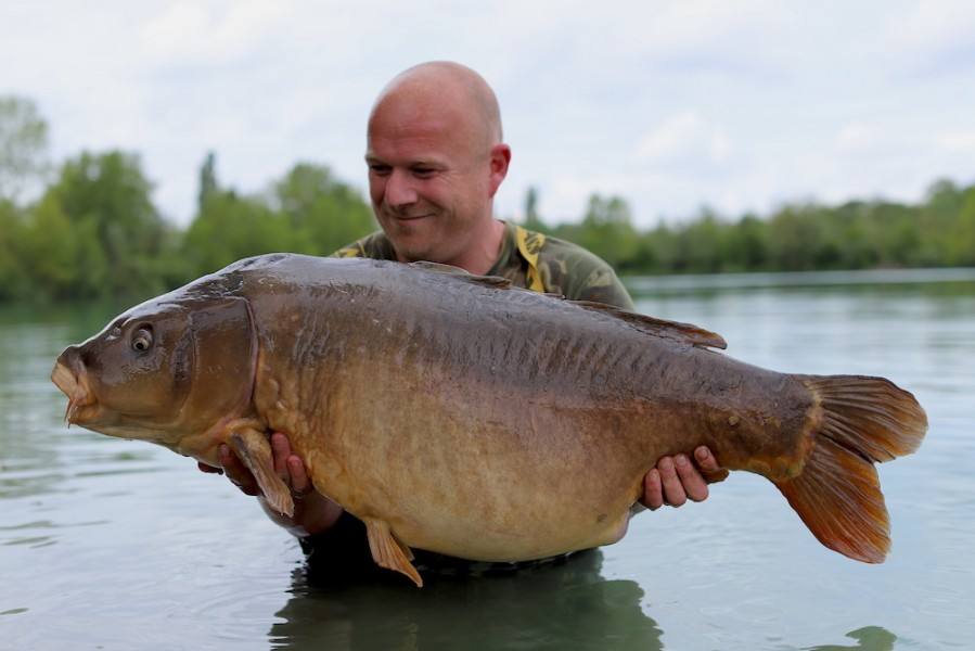 Martin Carefoot, 53lb 8oz, Stock Pond, 4.5.19