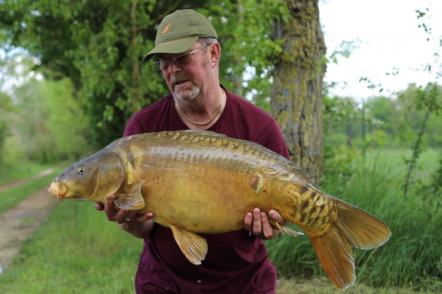Bob Burrows, 32lb 4oz, Big Girls, 4.5.19