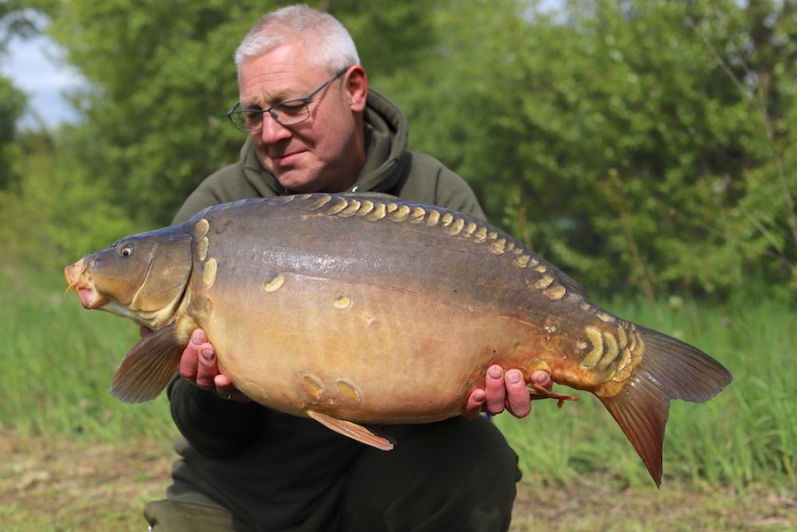 Tim Clay, 27lb 8oz, Pole Position, 4.5.19