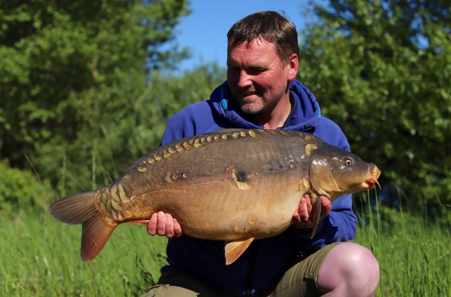 Andy Savage, 28lb, Stock Pond, 11.5.19