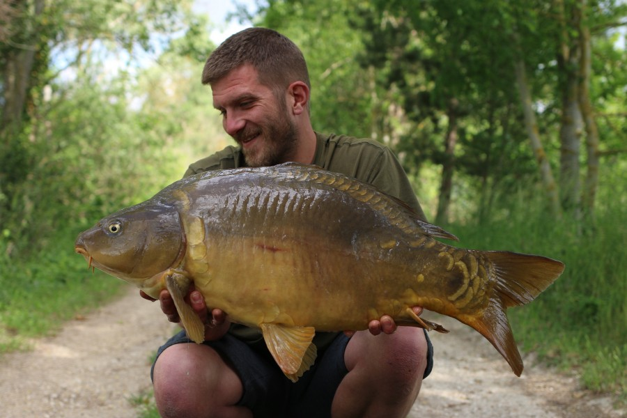 Seb Dickinson, 30lb, Big Girls, 25/05/19