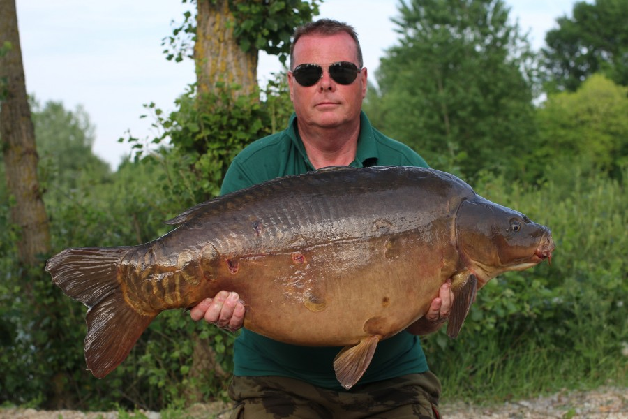 Dave Anderson, 46lb, Stock Pond, 01/06/2019