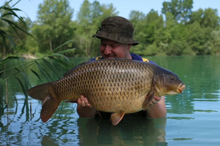 Steve Bartlett with Le' Flair at 29lb, Pole Position 08.06.2019