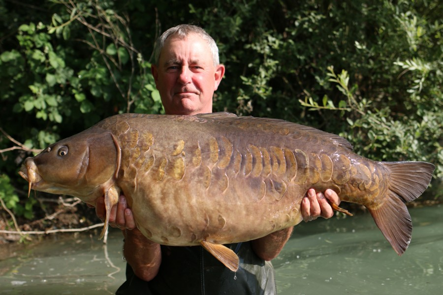 John Allan with Wodka at 46lb Bobs Beach, 08.06.2019