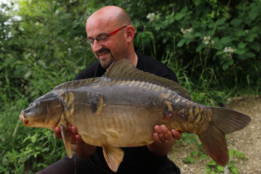 Tom Ryman with Half Moonscale at 24lb from Bob's Beach 15.06.2019