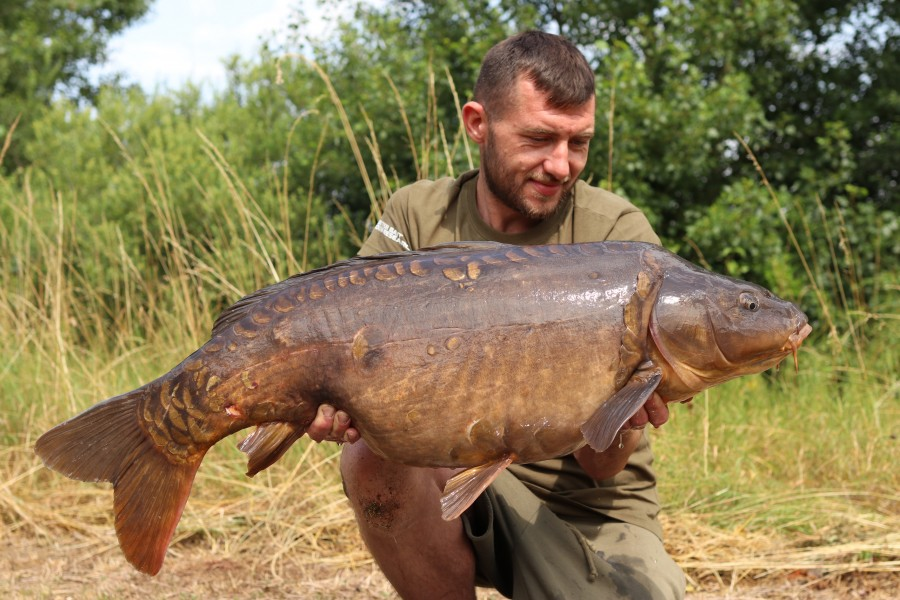 Adam Cheal With Partial Eclipse at 37lb from Pole Position 29.06.19