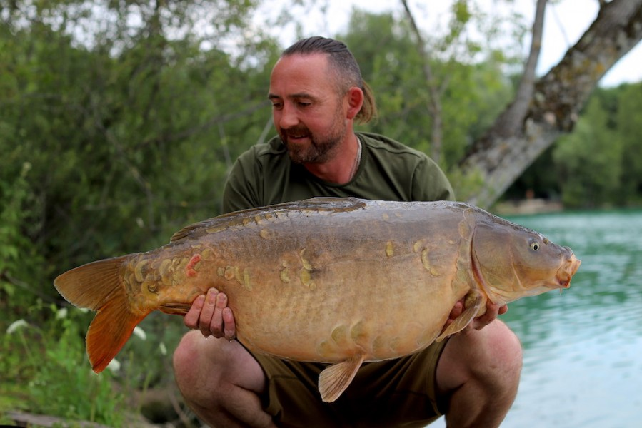 Chris Clarke, 38lb 8oz, Co's Point, 6.7.19