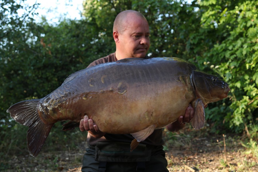 Andy Day, 44lb 4oz, Co's Point, 27/07/19