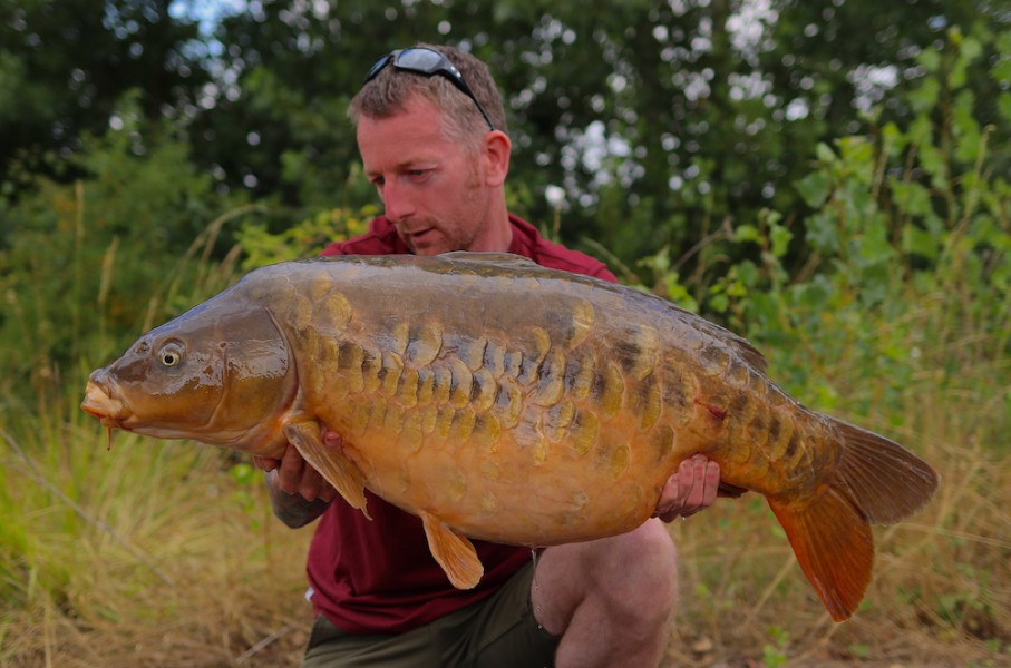 Ant Mulrine, 38lb 8oz, Pole Position, 27.07.19