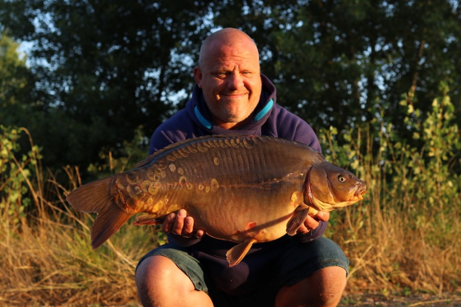 Lee Horwood, 21lb 8oz, Stock Pond, 27.07.19