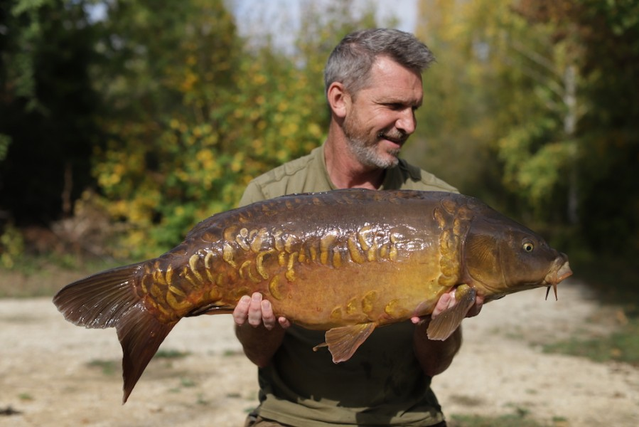 Andy's 28lb fighting machine...