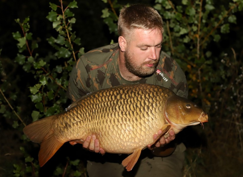 "Richard ""Tiny"" Welling, 24lb, Stock Pond, 7.9.19"