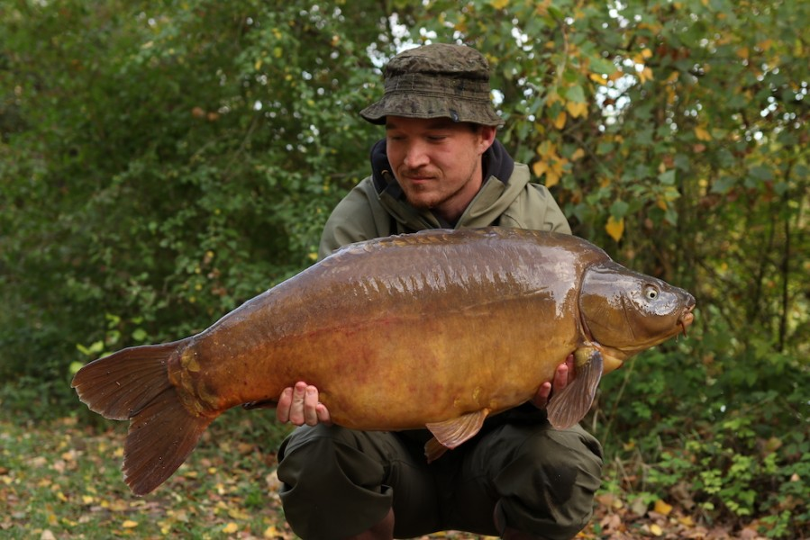 Ryan Shaw, 39lb 8oz, Bob's Beach, 21.9.19