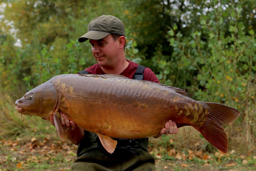 Ian Bailey, 40lb 4oz, Pole Position, 21.9.19