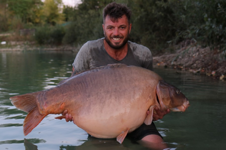 Mat Heighway, 71lb 8oz, Stock Pond, 14.9.19