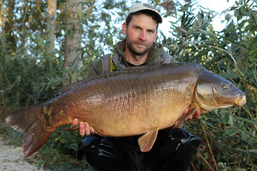 James Williams, 49lb 12oz, Alcatraz, 14.9.19