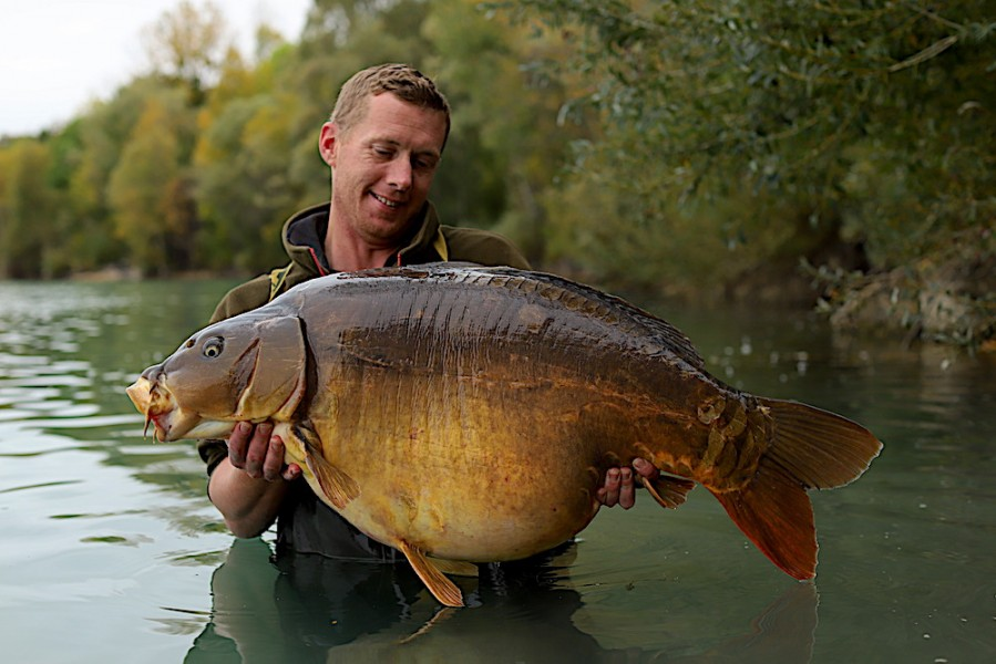 Andy Sparrow, 56lb 8oz, The Stink, 19.10.19