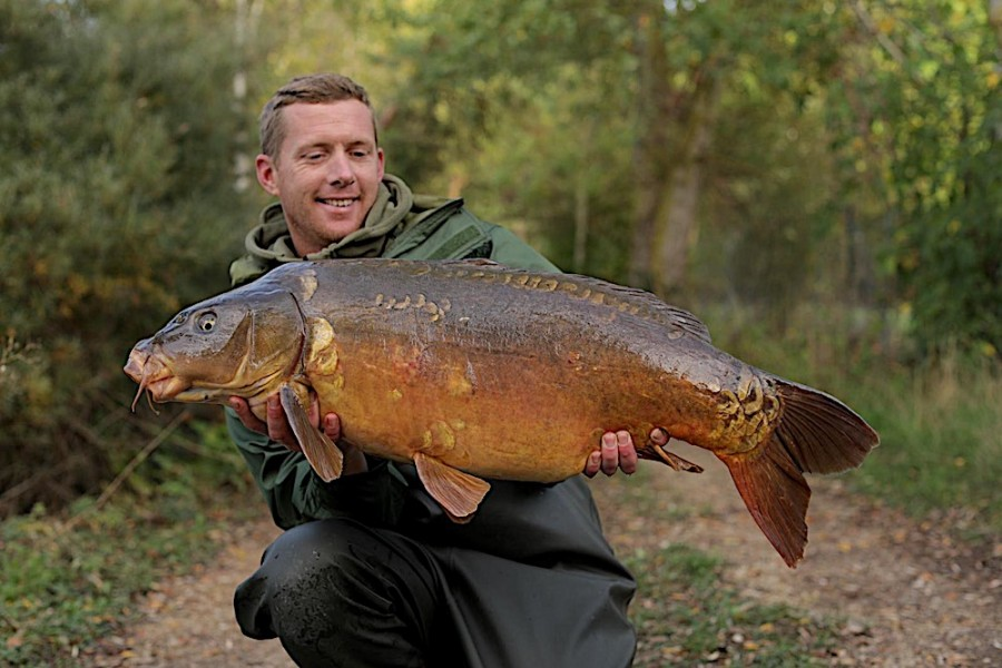Andy Sparrow, 32lb, The Stink, 19.10.19