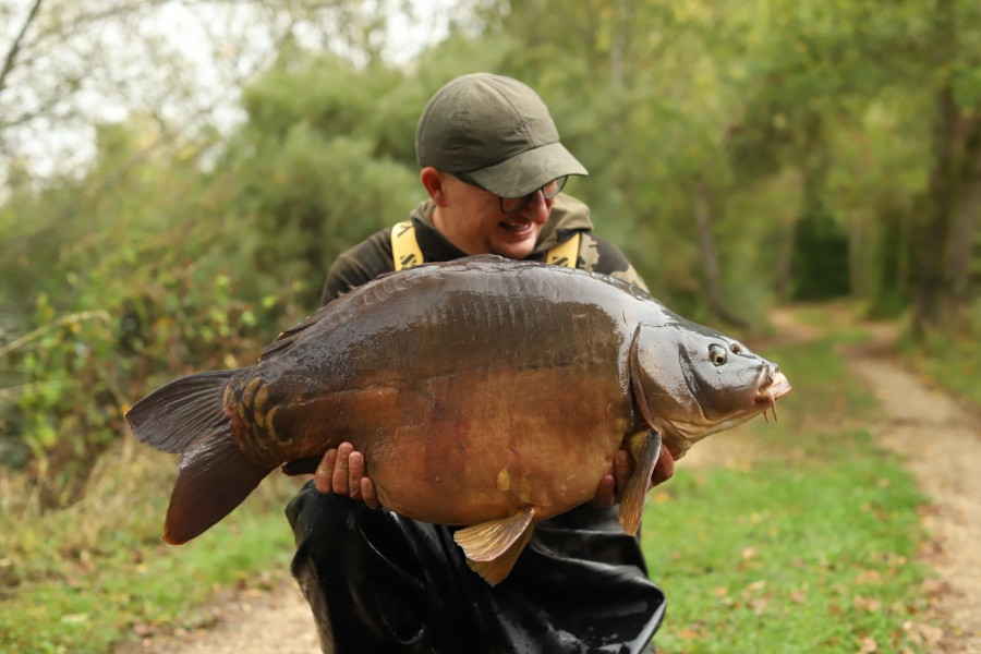 DF with Ugloe at 38lb from Stink 05.10.2019