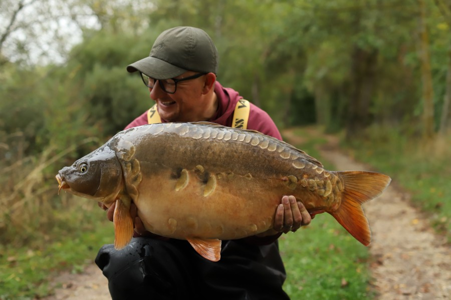 DF with Shmokin at 27lb 12oz from Stink 05.10.2019