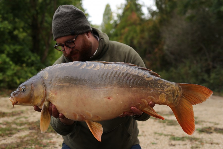 Denni Di Rosa with Rowen at 28lb from Co's Point 05.10.2019