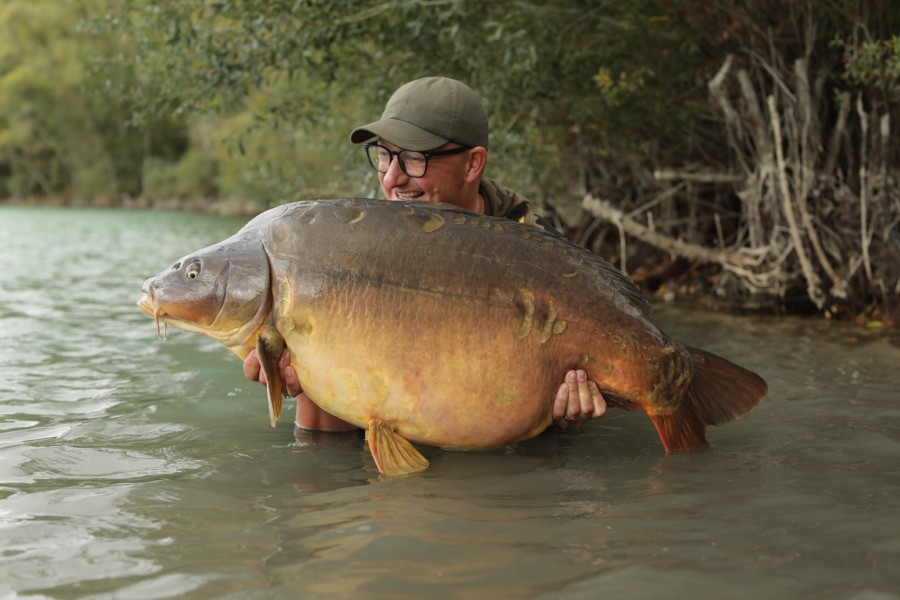 DF with Baby Cluster at 60lb 4oz from Stink 05.10.2019