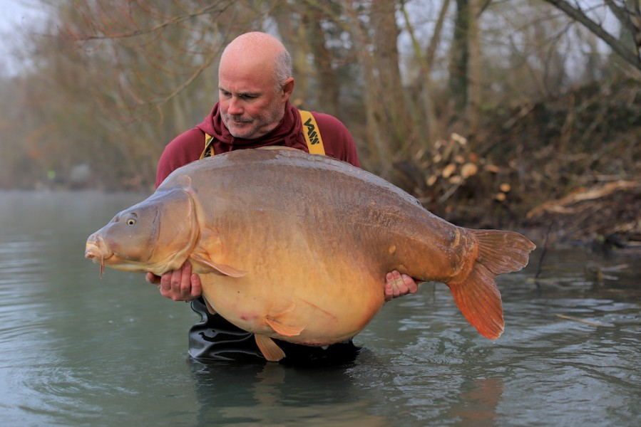 Steve French, 82lb 8oz, Alamo, 18.01.2020