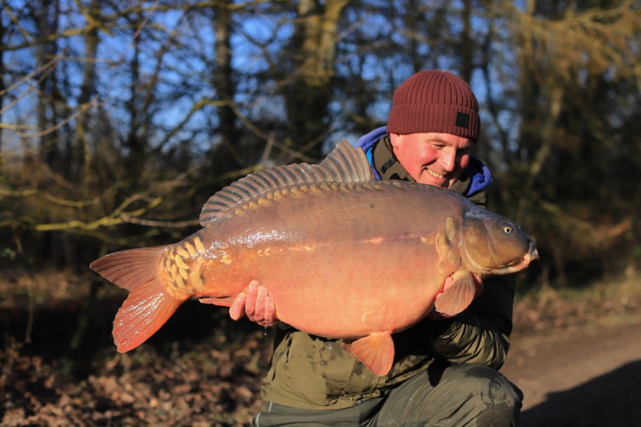 Andy Savage, 40lb 8oz, Bob's Beach. 18.01.2020