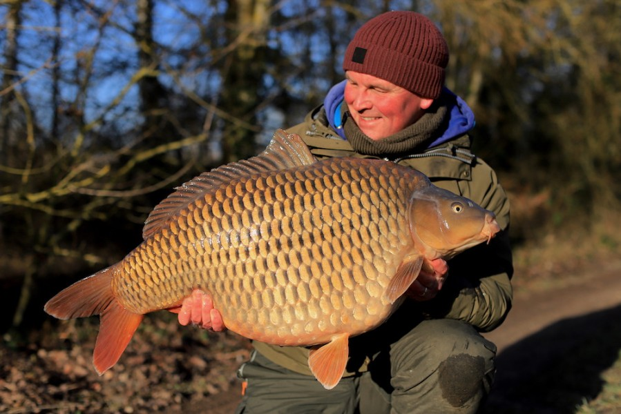 Andy Savage, 43lb, Bob's Beach. 18.01.2020