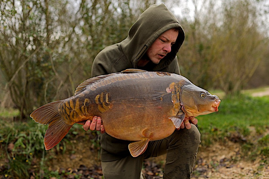 James Jones, 30lb 8oz, Alcatraz, 21.12.19