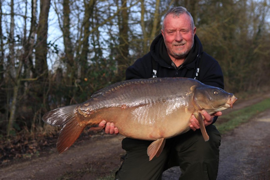 Barry Yeomans, 30lb 8oz, Bobs Beach, 01/02/2020