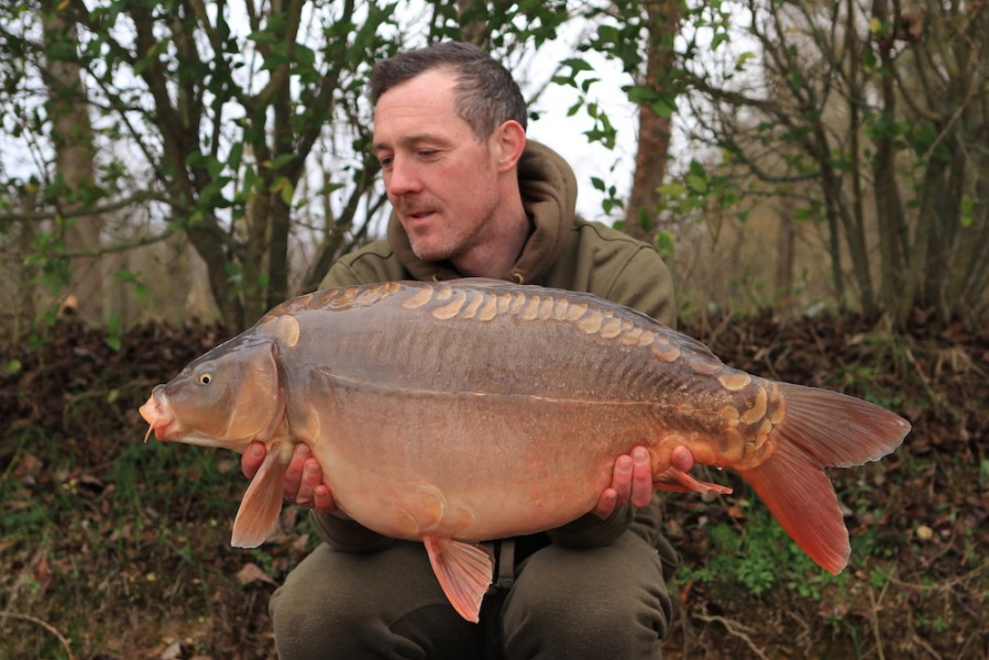 Paul Simm, 27lb, Bob's Beach, 08.02.20