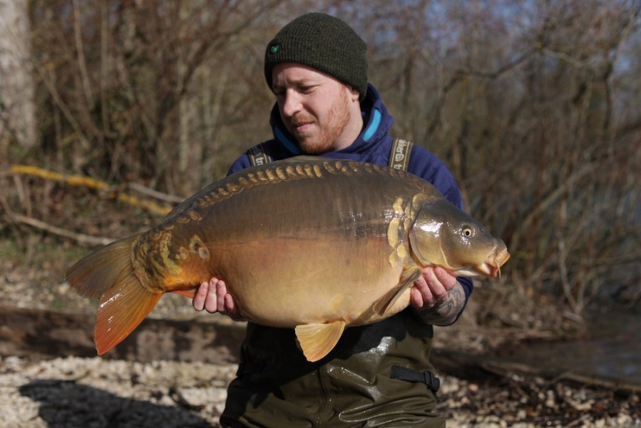 Lewis Hannaford, 30lb, Co's Point, 15.02.20