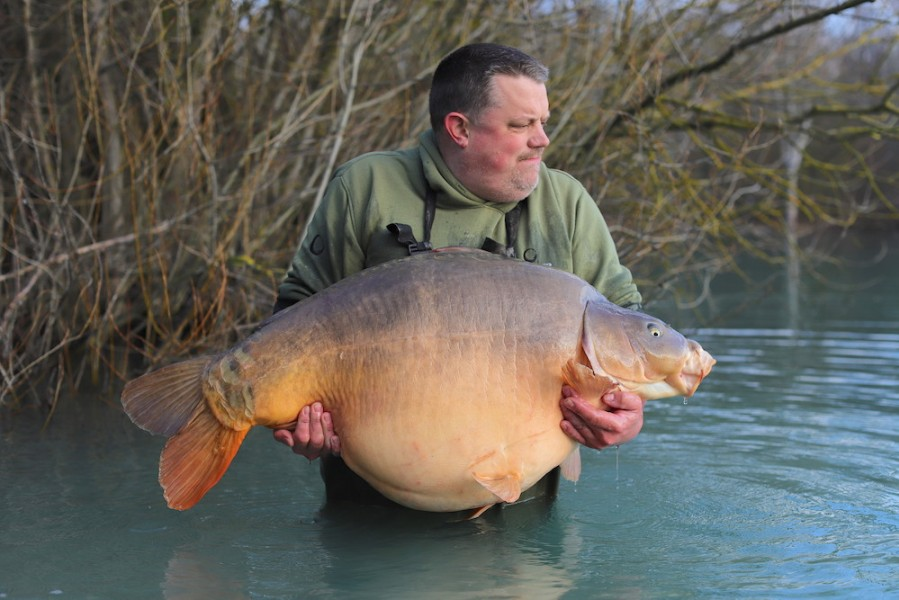 Colin Reed, 75lb, Co's Point, 29.02.20